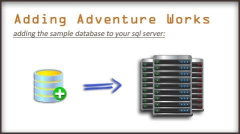 Adding Adventure-Works sample database | Mahaveer's Blog